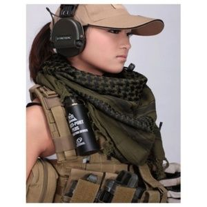 Accessories - Shemagh Tactical Green Desert Head Scarf Military